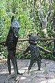 Collodi, Parco di Pinocchio, il gatto e la volpe 03.jpg