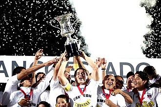 Colo-Colo - Colo-Colo squad celebrating the 2006 Torneo de Clausura obtaining.