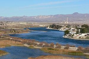 Bullhead City, Arizona - Bullhead City along the Colorado River