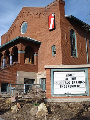Colorado Springs Independent - The Colorado Springs Independent building