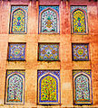 Colorful Fresco of Wazir Khan Mosque.jpg