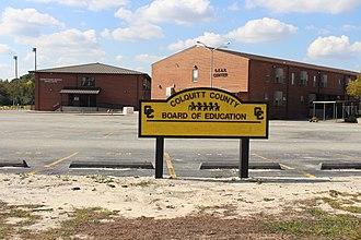 Colquitt County, Georgia - Colquitt County School District headquarters
