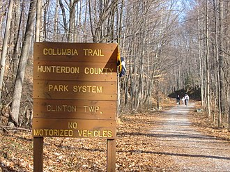 Columbia Trail - Columbia Trail in Clinton Township, New Jersey