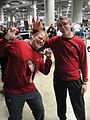 Comikaze Expo 2011 - Star Trek red shirts (6325382886).jpg