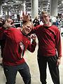 Comikaze Expo 2011 - Star Trek red shirts (6325382886).jpg