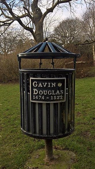 Gavin Douglas - Image: Commerative Bin