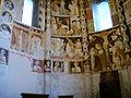 Como, basilica di sant'abbondio, cortile, interno, affreschi 09.JPG