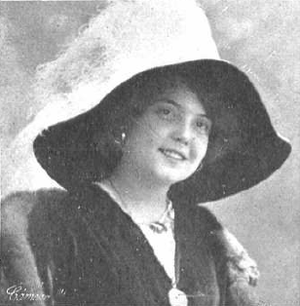 Conchita Supervía - Supervía in about 1913