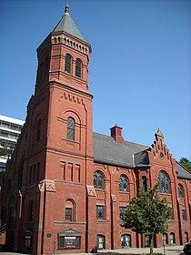 Concordia German Evangelical Church and Rectory aka United Church.JPG