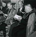 Congres Pax Christi met Kardinaal Alfrink, Kardinaal Feltin (Parijs) en burgemeester Hustinx in de s F84412.jpeg