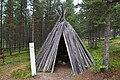 Conical wooden hut, Siida Museum, Inari, Finland (3) (35850118614).jpg