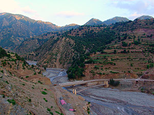 Kurram Agency - Image: Connecting Bridge Tari Mengal Kurram Agency