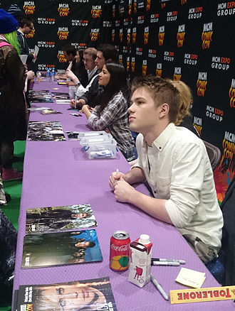 Connor Jessup - Jessup at London Comic Con in 2014