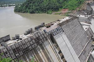 Bui Dam - Construction of the dam