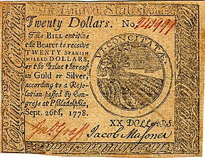 Continental Currency $20 banknote obverse (September 26, 1778).jpg