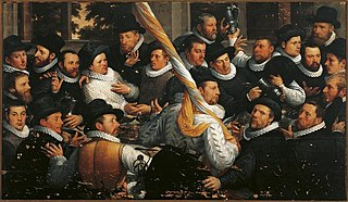 The Banquet of the Officers of the St. Adrian Militia Company in 1583