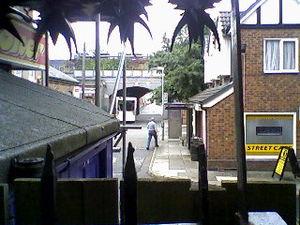 Coronation Street sets - Part of the Coronation Street set.