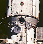 Cosmonaut Polyakov Watches Discovery's Rendezvous With Mir (9458248491).jpg