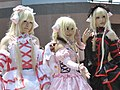 Cosplayers of Chi, Chobits at FF18 20110730b.jpg