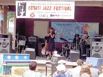 Cotati Jazz Festival - Susan Comstock Quintet in 2010