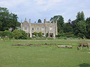 Cotswold Wildlife Park - The old Manor House