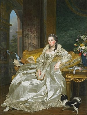 Élisabeth Sophie de Lorraine - Her daughter Jeanne Sophie by Roslin.