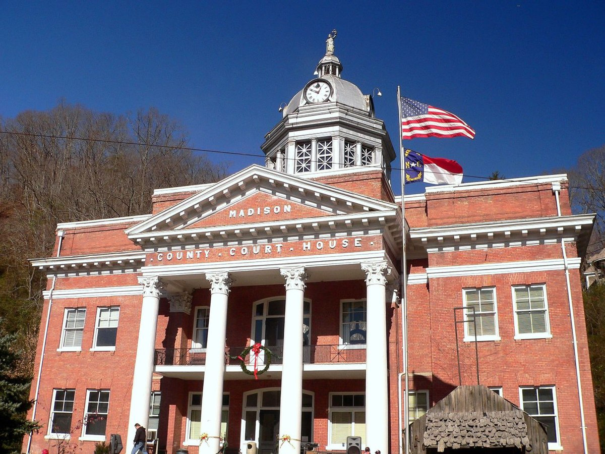 Px Court House C Madison County C Nc