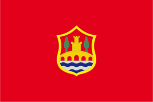 Covarrubias, Province of Burgos - Image: Covarrubias bandera