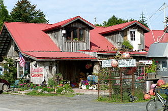 Seldovia, Alaska - The Crab Pot Grocery.