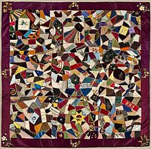 Crazy quilting - Wikipedia