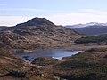 Creag Dubh and Loch nan Gillean, near Cougie - geograph.org.uk - 172626.jpg