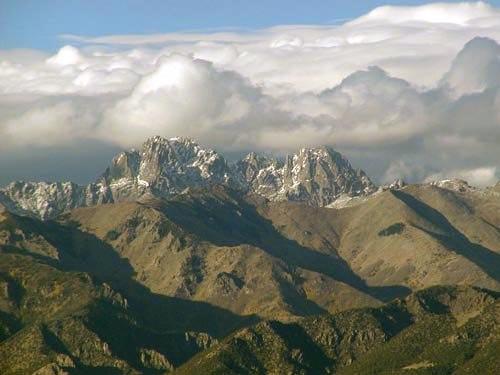 Crestone peaks fall