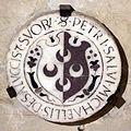 Cripta di san lorenzo (salone donatello), stemma salvucci.JPG