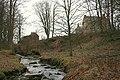 Crombie Castle by the Crombie Burn. - geograph.org.uk - 353913.jpg