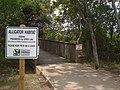 Cullinan Park, Alligator Habitat, Entrance June 2008 - panoramio.jpg
