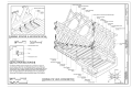 Curbing, Spacer, and Air Space Detail; Detail from Section B-B; Worms-Eye View Axonometric - Hall Bridge, Spanning Saxtons River at Paradise Hill Road, Rockingham, Windham HAER VT-40 (sheet 5 of 6).png