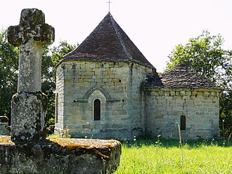 Curemonte - Image: Curemonte Eglise Saint Hilaire de la Combe 3