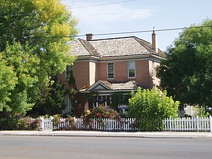 National Register of Historic Places listings in Uintah County, Utah - Image: Curry House Vernal Utah