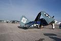 Curtiss SB2C-5 Helldiver BuNo 83589 NX92879L Grumman TBM-3E Avenger BuNo 91436 NL436GM RSideRears SNF 04April2014 (14399755119).jpg