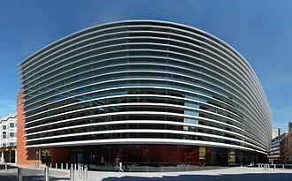Curve (theatre) - Image: Curve Leicester full panorama