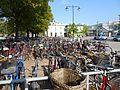 Cykelparkering vid resecentrum i Västerås.jpg