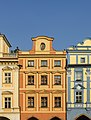 Czech-2013-Prague-Buildings on Staroměstské náměstí.JPG