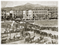 Défilé sur la place Charles-Albert dans les années 1860.png