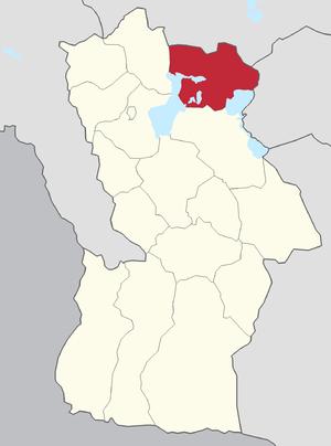 Dörgön, Khovd - Image: Dörgön Khovd Province