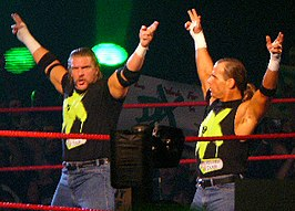 Triple H (links) & Shawn Michaels (rechts)