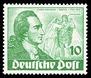 DBPB 1949 61 Johann Wolfgang von Goethe