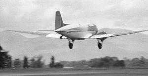 DC3, Palmerston North, New Zealand, 1974.jpg