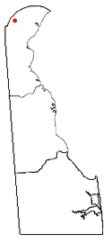 Location of North Star, Delaware