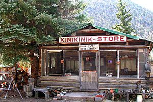 Kinikinik, Colorado - General store in Kinikinik, Colorado
