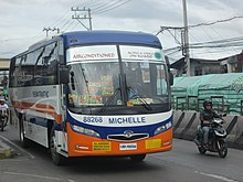 Daewoo BS106 operated by Thelman Transit, Inc.